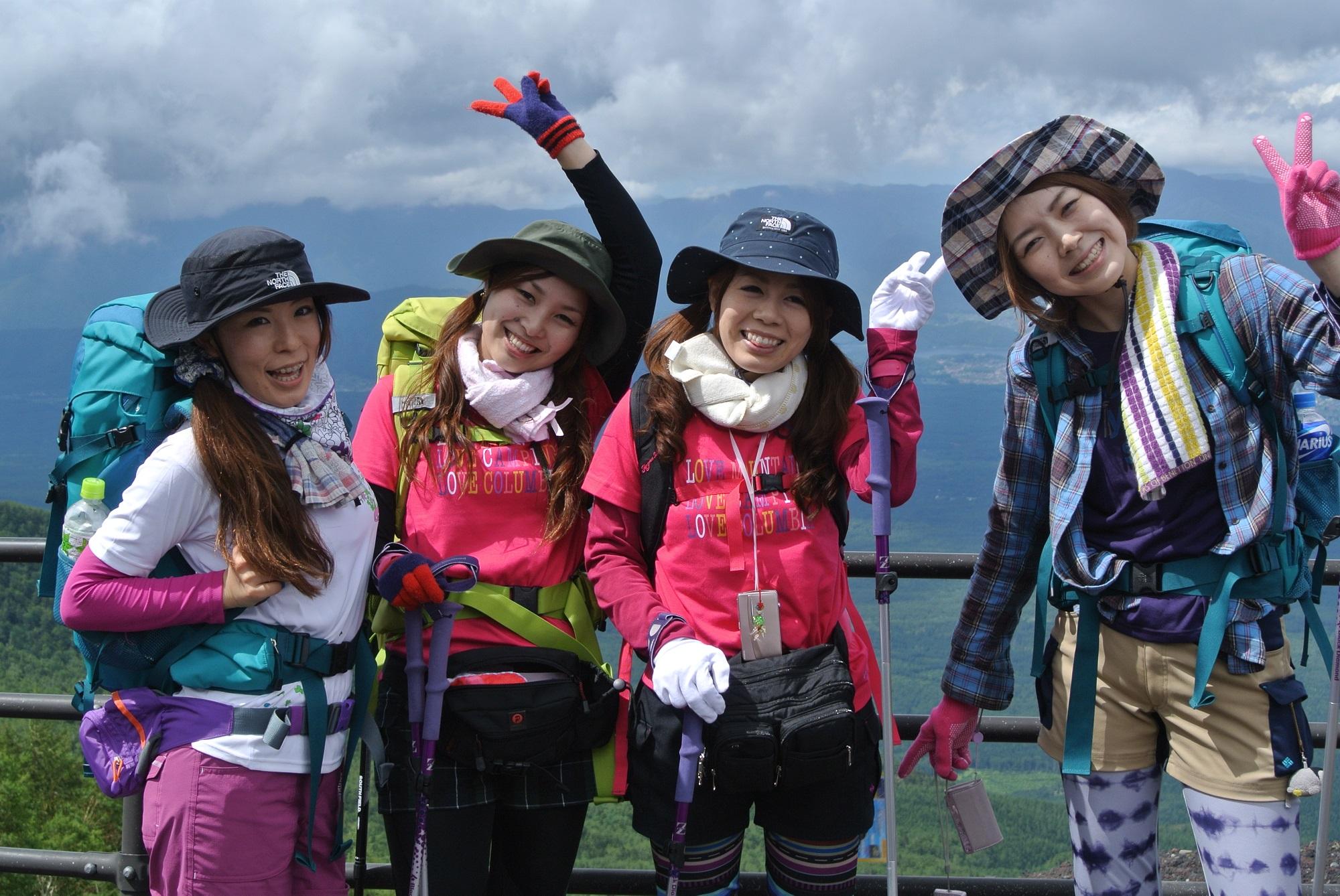 富士登山の服装(ファッション)について