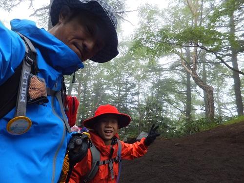 富士登山2014の様子