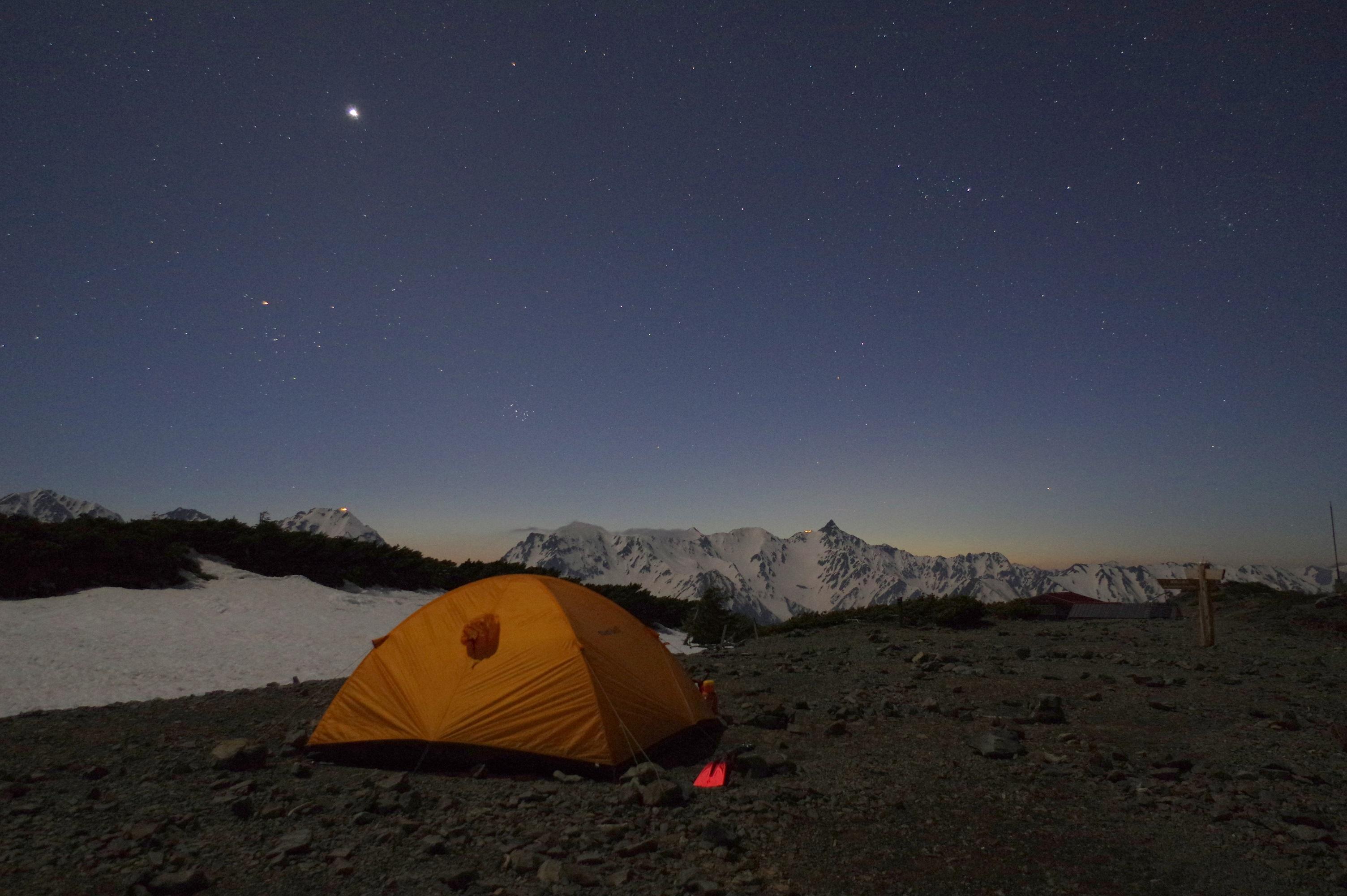 秋の天体観測キャンプのすすめ