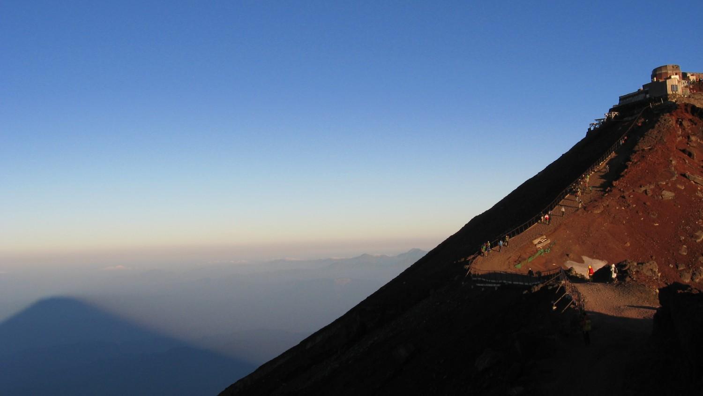 富士登山2014のようす