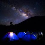秋は「天体観測キャンプ」に出かけよう!