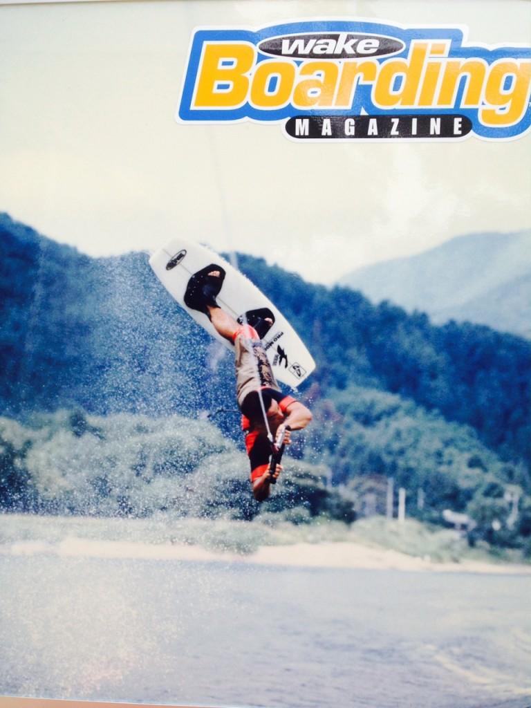 かつては、専門雑誌の表紙も飾った弘田登志雄さん。