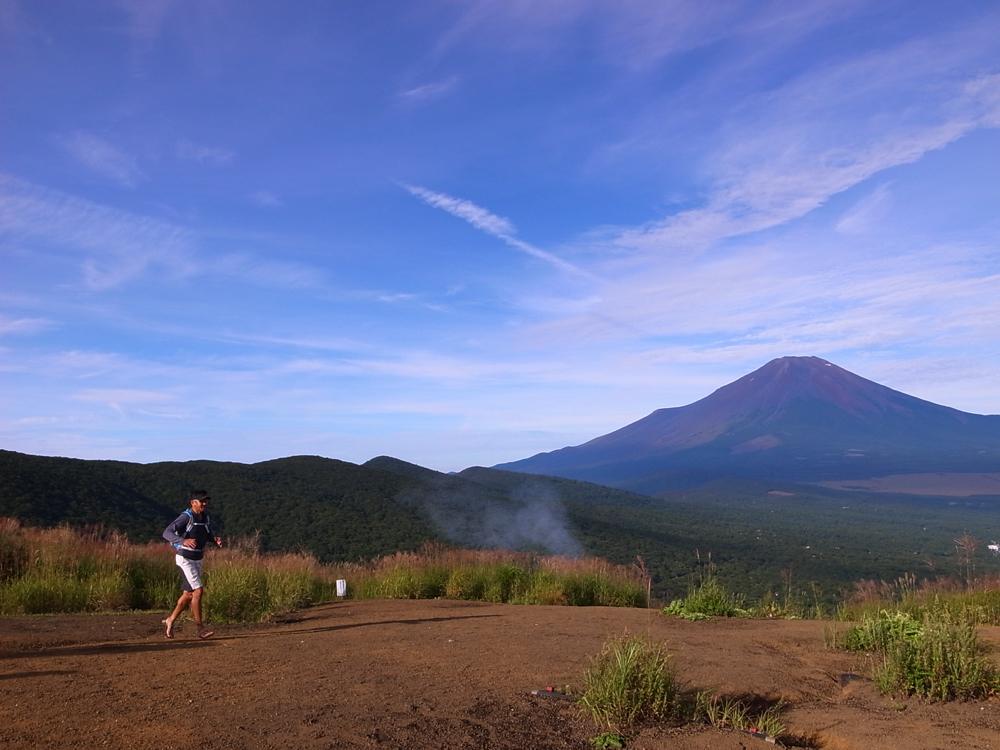 著者にとって、富士山麓は絶好のトレーニングの場。