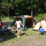 ◇徳島で春のキャンプ◇ レンタル体験ブログレポート