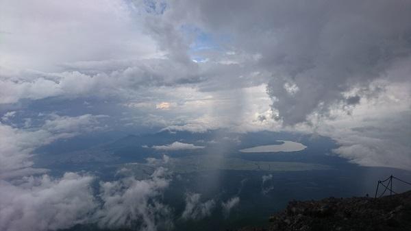 8月に8合目まで富士登山をされた方の体験レポート