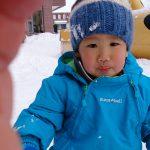 ☆初めての雪遊び☆