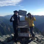 7月中旬北アルプスの槍ヶ岳の体験レポート