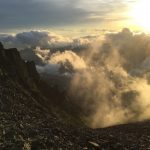 2016年7月上旬 涸沢から上高地登山 ストームクルーザー上下セットPRBL(メンズ)・…