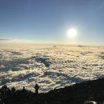 2017年8月上旬 富士登山 はじめての登山セット ライト(メンズ)ご利用レポート