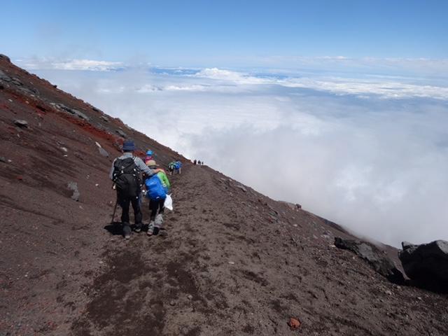 2017年9月上旬 富士登山 キッズスパッツ・ウェザ-テック ライトスパッツ 黒・ティキナ 2 PE ブルー 他4点 ご利用レポート