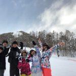 2018年1月下旬 高井富士スキー場 ROXYスノーウェア上下セット(レディース)WBB7 …