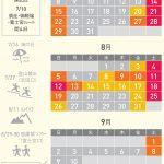 混雑を避ける富士登山【混雑回避】(時期・時間)
