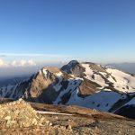2018年5月下旬 白馬三山の縦走 グレイシャー ご利用ブログレポート