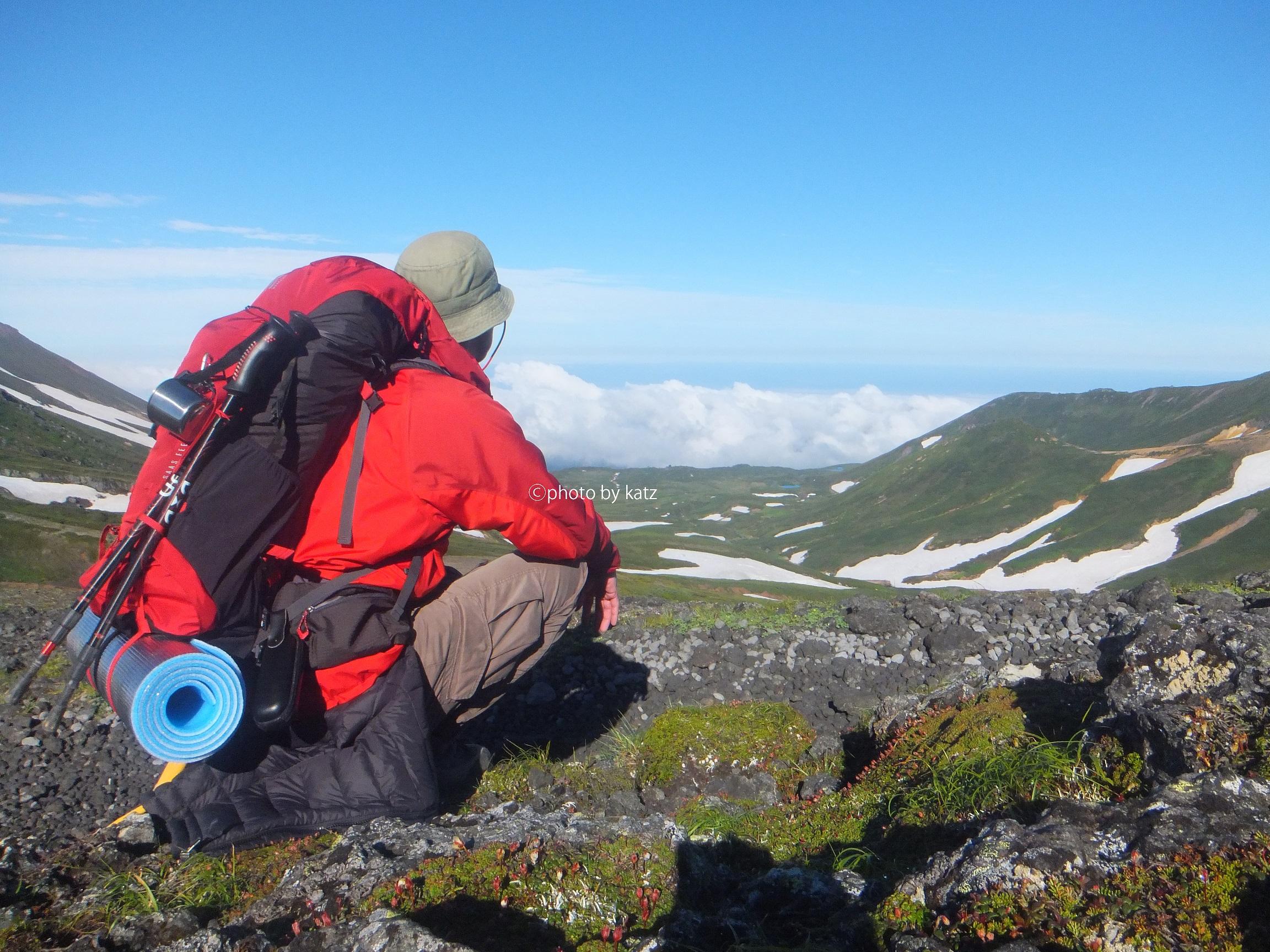 2018年7月中旬 北海道大雪山系旭岳から黒岳 ステラリッジ テント1型 ご利用ブログレポート