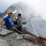 2018年8月上旬 登山 表銀座縦走 ハバハバNX ご利用ブログレポート