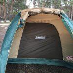 キャンプ初心者におすすめ!!代表的なメーカーの代表的なテント「コールマン:タフワイ…