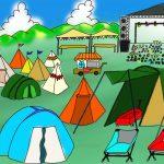 野外フェス参戦で初めてのテント泊!持ち物・必需品を紹介!!レンタルなら初心者で…