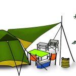 キャンプ タフワイドドーム