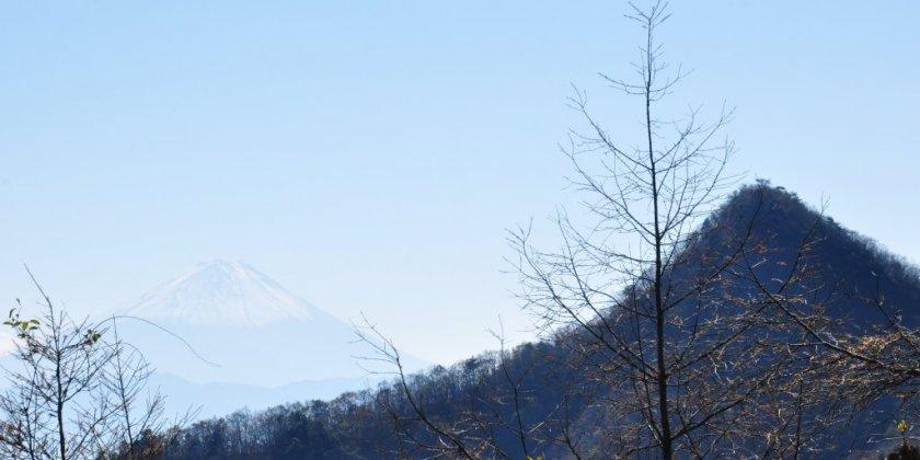 黒富士と富士山