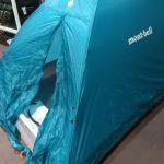 はじめてのテント【モンベル ステラリッジ2型】設営とペグの打ち方~アラフィフソロキャンパーへの挑戦
