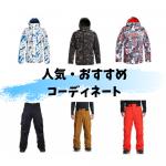 スノーボードウェアセット(メンズ)選べるコーディネートセットの人気コーディネートとおすすめコーディネート!