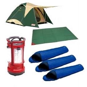 【北海道レンタル】みんなでキャンプセット