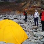 ◆北穂高登山、涸沢テント場 レンタルご利用レポート◆