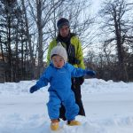 2020年2月上旬 奥日光湯元 雪遊びウェアセット(ベイビー)男の子 ご利用ブログレ…